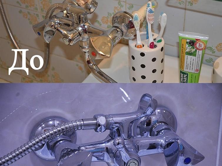 ремонт ванной комнаты в Караганде, ул. Язева до и после